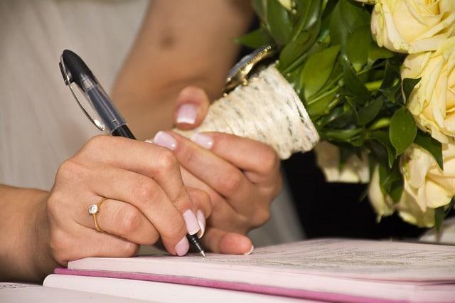 Ehevertrag – Unterhaltsvereinbarung auch bei Gesetzesänderung